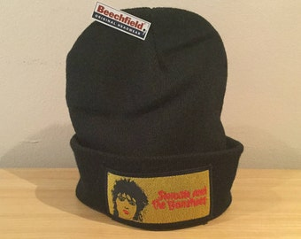 Vintage Siouxsie And The Banshees Patch/Upcycled Hat