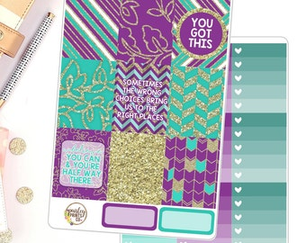 You Got This Vertical for use in Erin Condren Life Planner Weekly kit