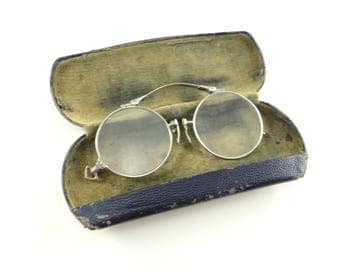 Antique Pince Nez, Antique Reading Glasses, 12K Glasses, Vintage Lorgnettes, Vintage Magnifying Glasses