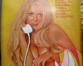 Playboy October 1969 exceptionally good condition FREE SHIPPING
