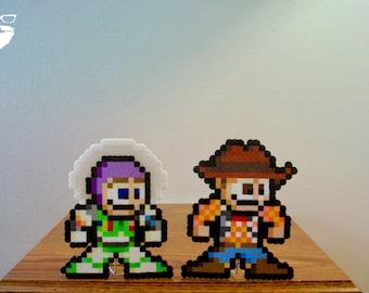 Buzz & Woody Mega Man Mashup | Standee