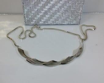 Necklace necklace 925 Silver leaf design SK477