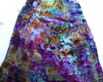 XS American Eagle Lavender Ice Dyed Dress
