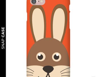Rabbit Phone Case, iPhone 7 Rabbit Case, iPhone Bunny Phone Case, Samsung Phone Case, Samsung Case, Bunny Case, Bunny Phone Case, Bunny