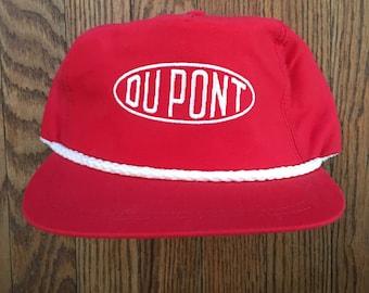 Vintage DuPont Strapback Hat Baseball Cap