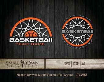 Basketball SVG Cut Files - Vinyl Cutters, Screen Printing, Silhouette, Die Cut Machines, & More