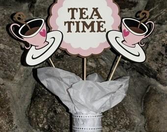 Tea Time Centerpiece Set