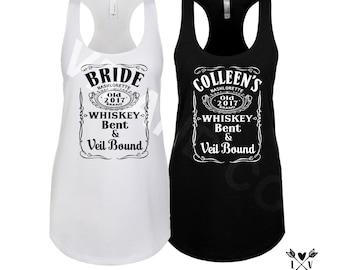 whiskey BRIDE shirt-country Bride-Bridesmaid shirts-bachelorette party shirts -NASHVILLE BACHELORETTE-country bridal showers