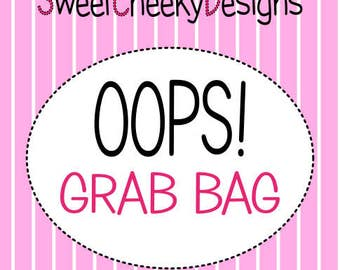 OOPS Sticker Grab Bag!  10 Sheets of Slightly Imperfect Stickers