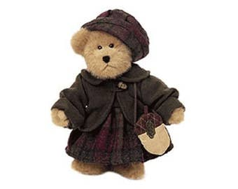 Kirsten T. Oakley Boyd's Collectible Bear - TJ's Best Dressed Collection - Complete with purse & tags