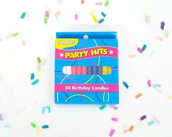 Rainbow candles. rainbow candle. rainbow party. rainbow party supplies. birthday candle. meri meri candles. birthday candles. bday candles