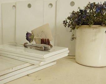 10 wonderful antique porcelain boards, France...CHARMANT!