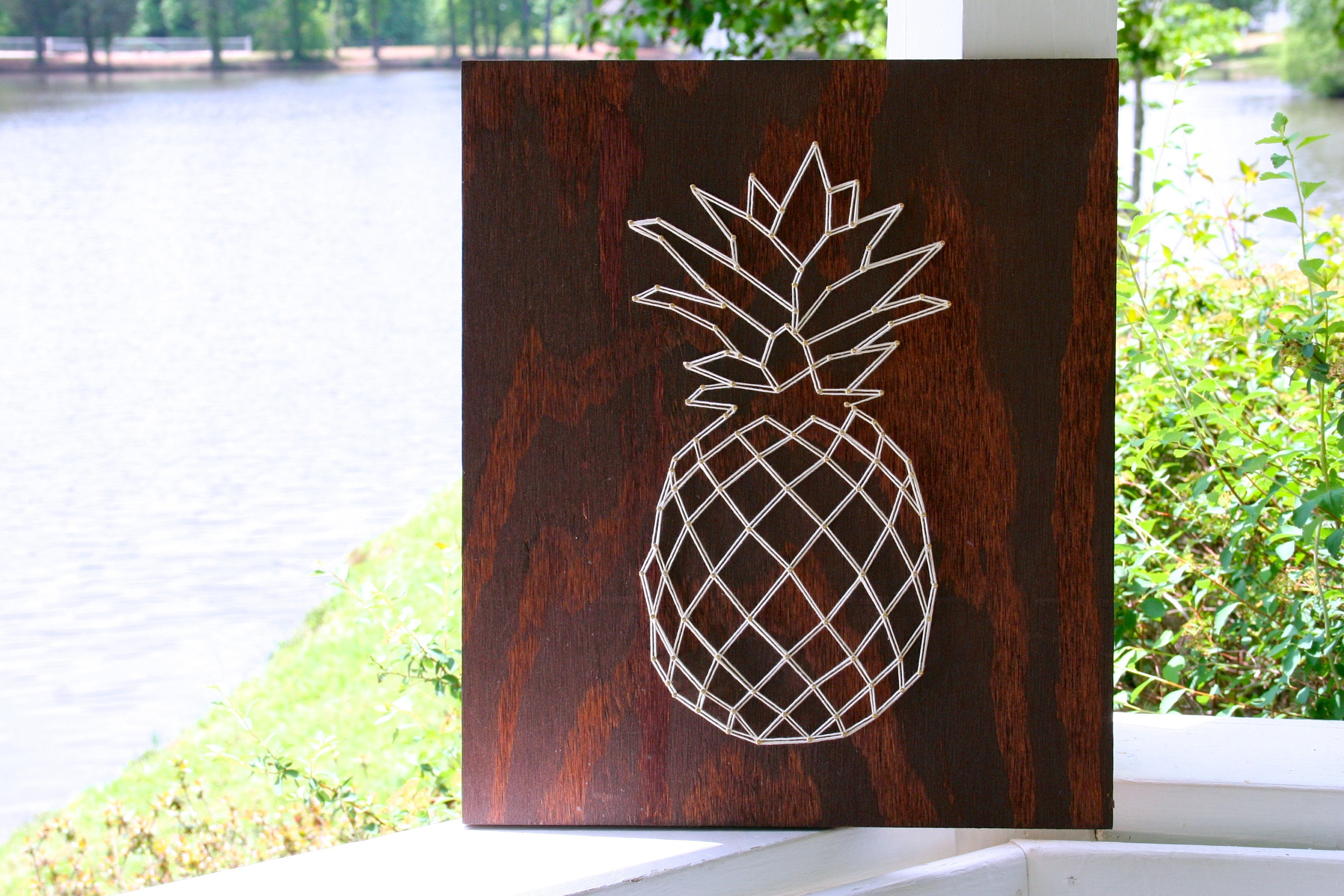Pineapple string art | Etsy
