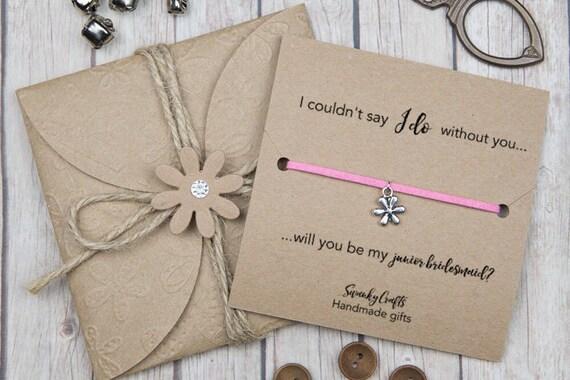 Wedding Gifts For Junior Bridesmaid : Junior Bridesmaid gifts - bridal party gifts - custom friendship ...