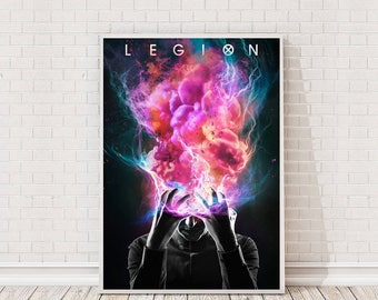 Legion Poster Art Film TV Poster Classic Movie Poster