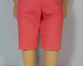 18 inch doll clothes coral Capri Pant