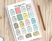 Les planificateurs agendas Planner Stickers | Planificateur Addict | Articles de papeterie Stickers (S-215)