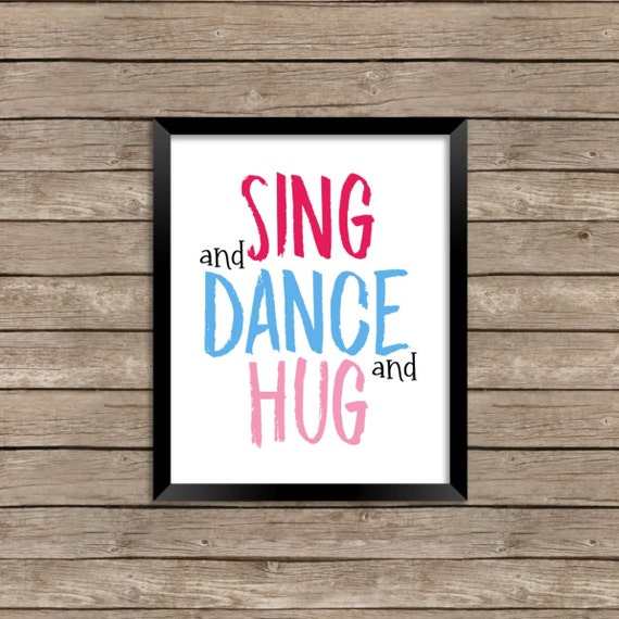 Troll Dance Song Wall Decor