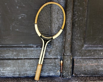 Tennis Racket - Vintage Tennis Racquet - Wooden Tennis Racquet Dorsch - Wood Tennis Racket Made in GDR - Tennisschläger - Sports Decor