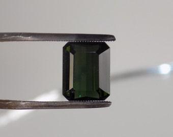 3.3 Ct Dark olive green Tourmaline 10x8x4.25 mm