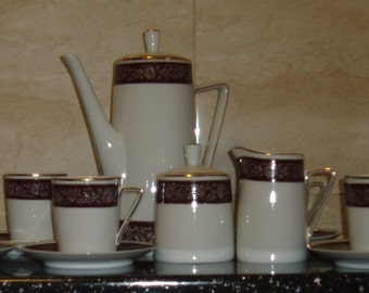 Walbrzych China Coffee Set