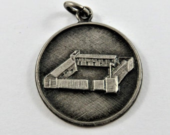 Fort Whoop-Up Lethbridge Alberta Canada Sterling Silver Charm or Pendant.