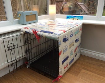Small Crate Cover for Dogs - Dog Crate - Camper Van Cover - Wipe Clean Crate Cover - Dog Crate Cover - Dog Crate Cover - Pet Crate Cover