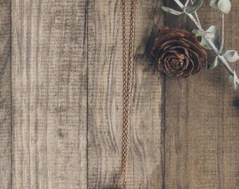 Pinecone Necklace | #11