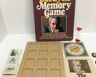 Harry Lorayne Memory Game