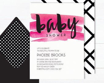 Baby Shower Invitation | Baby Shower Invites | Sip and See