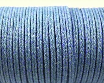 3 meters 3 mm Italy JEANS Soutache DENIM Soutache CORD Italy Soutache -  braid soutache trim (ITJ03)
