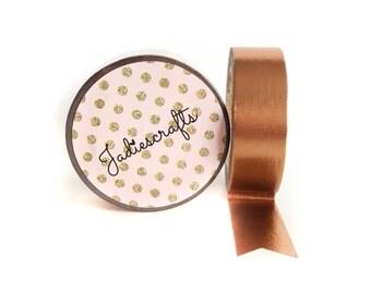 Rose Gold Foil Washi Tape