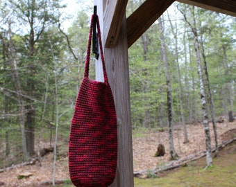 Crochet Wine Bottle Bag, Wine Tote Bag, Wine Carrier,