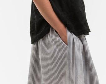 Paula, gifts 100% cotton Poplin for woman skirt