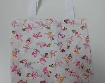 mini ballerina bag - ballet shoes bag - small handbag - mini bag - toddler bag - pink ballerina bag