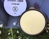 Lavender + Lemon Lotion Bar
