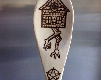 Baba Yaga Spirit Spoon