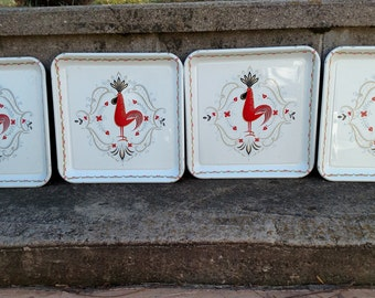 Marcelline serving tray-rare set of four