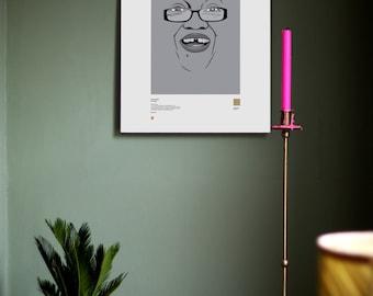 Custom 'PALETTE People' Portrait Print