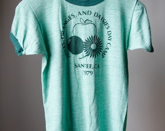 Vintage 1979 Santee, CA Camp T-shirt X-Small