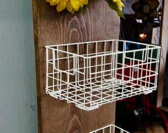 Sunflower Wall Caddy