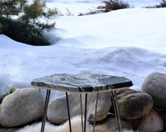 Granite Side Table