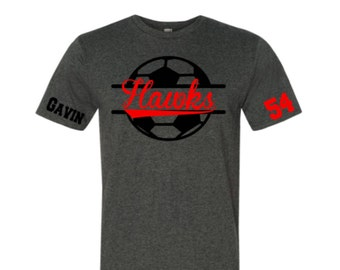Adult Soccer Shirt|Soccer Shirt|Customize your team & colors