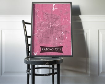 Kansas City Wall Art kansas city wall art | etsy