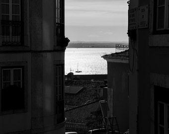 Street of Lisbon, Lisbon, Portugal. A street of Lisbon, Lisbon, Portugal