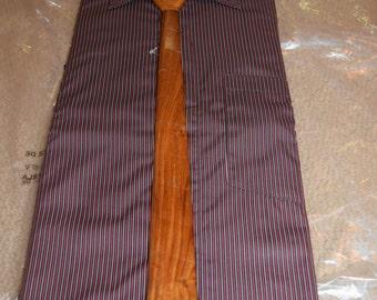 Wooden tie, handmade, wood, Men's necktie