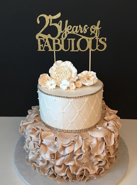 Any Number Birthday Cake Topper Wedding Anniversary Cake