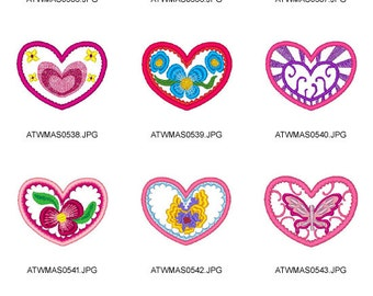 Sweethearts ( 10 Machine Embroidery Designs from ATW )