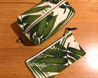 The Palm Leaf Box Bag.