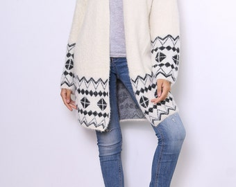 Soft and warm vest pattern
